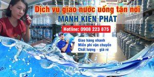 Dịch vụ giao nước uống tận nhà Mạnh Kiên Phát