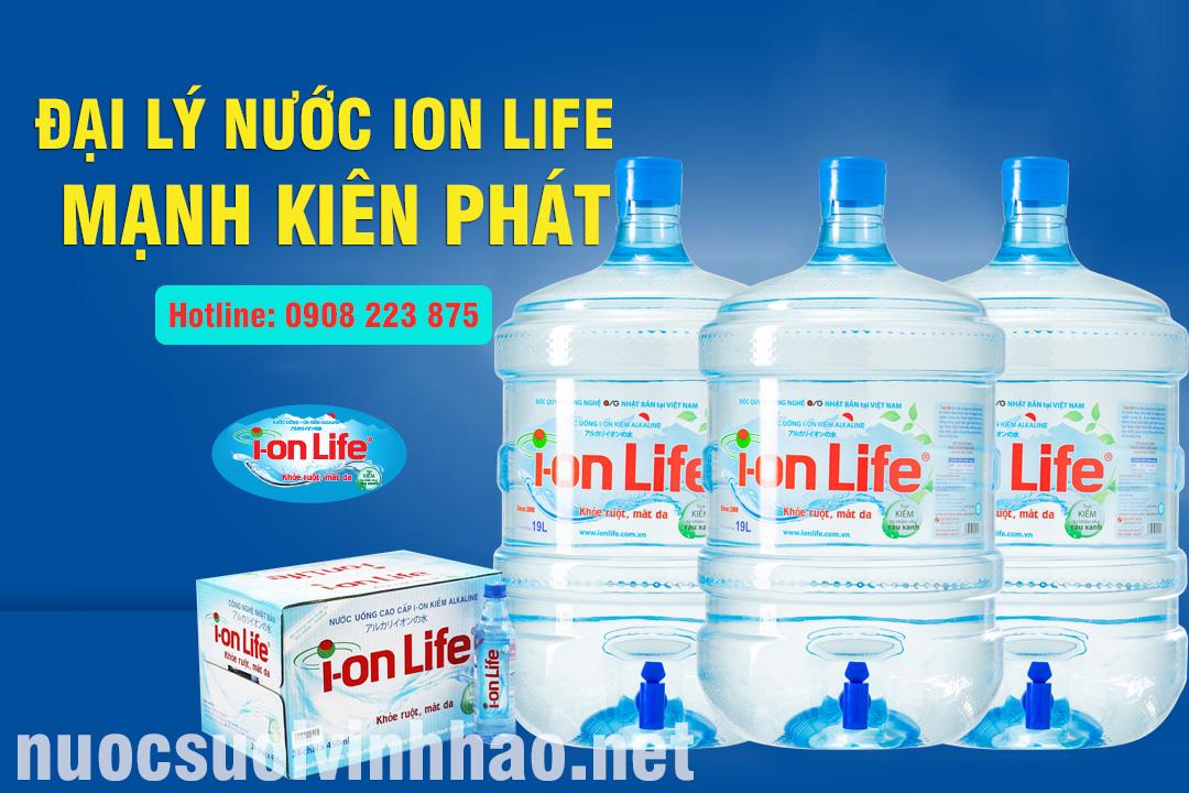 Đại lý nước Ion Life Mạnh Kiên Phát