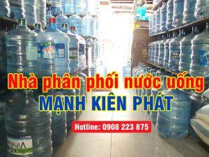 đại lý nước bình 20l Mạnh Kiên Phát