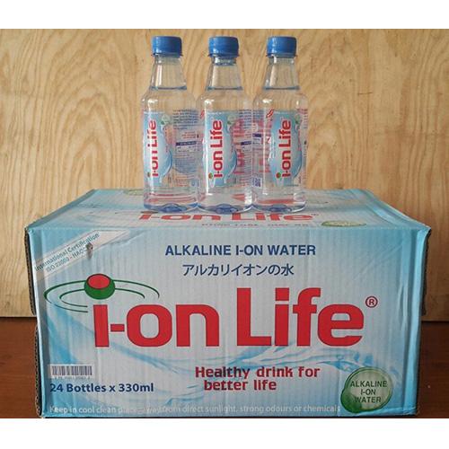 Thùng nước suối Ion Life 330ml