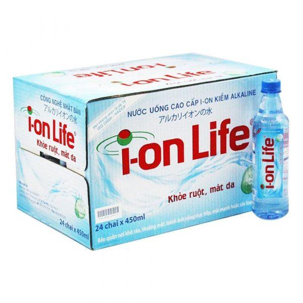 Thùng nước Ion Life 450ml