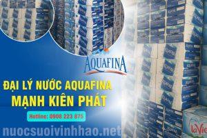 đại lý nước suối Aquafina Mạnh Kiên Phát