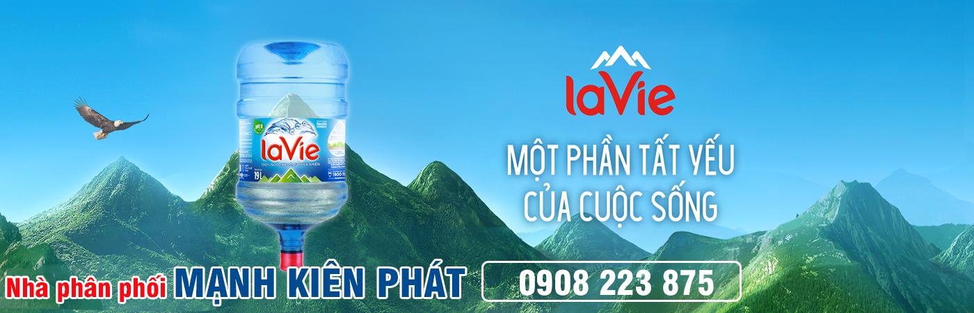 nhà phân phối nước khoáng LaVie Mạnh Kiên Phát