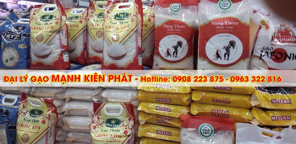 Đại lý gạo Mạnh Kiên Phát